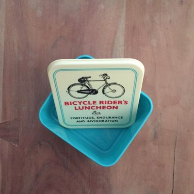lunch box bicycle rider's luncheon - een fietscadeau van sportcadeautjes
