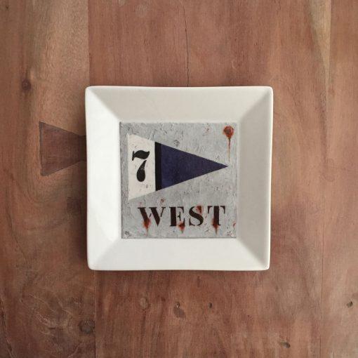 vierkant bord west - zeilcadeau van sportcadeautjes