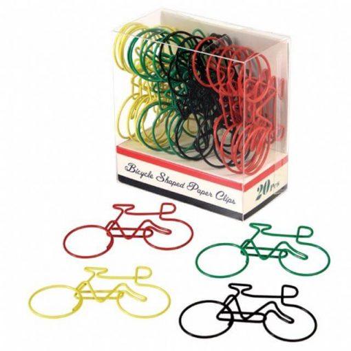doosje paperclips fietsen - fietscadeautjes van sportcadeautjes