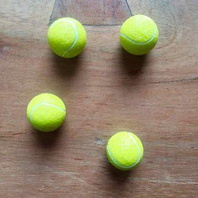 tennisbal magneten - tenniscadeautjes van sportcadeautjes