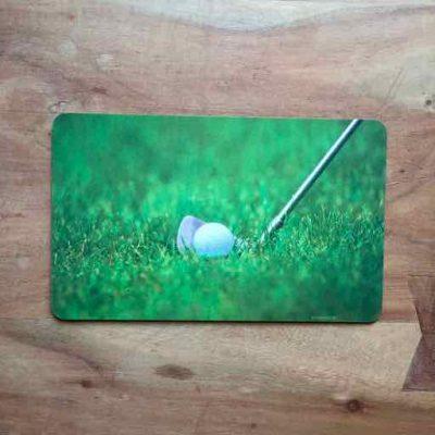 ontbijtplankje golfbaan - golfcadeautje van sportcadeautjes