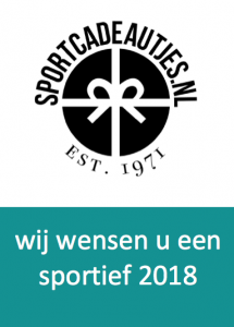 Sportcadeautjes wenst iedereen een sportieve 2018