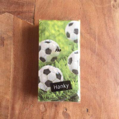 zakdoeken go for goal - voetbalcadeautjes van sportcadeautjes