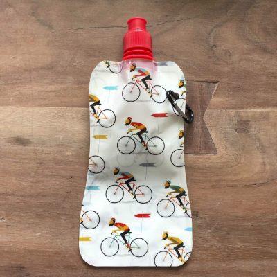 Le Bicycle opvouwbare waterfles - fietscadeautjes van sportcadeautjes