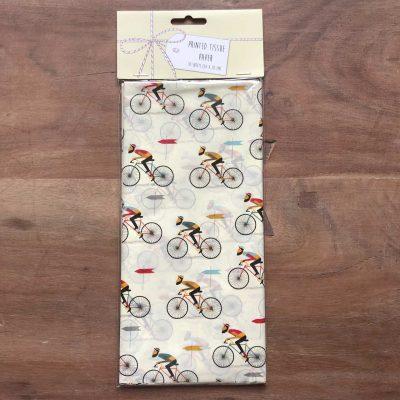 Le bicycle tissue papier - fietscadeautjes van sportcadeautjes