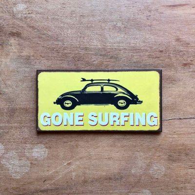 gone surfing magneet - surfcadeau van sportcadeautjes