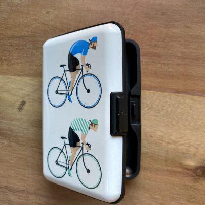 Fiets anti-skin RFID-bescherming pashouder – fietscadeau van sportcadeautjes