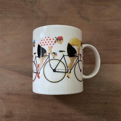 beker met wielrenners – fietscadeau van sportcadeautjes